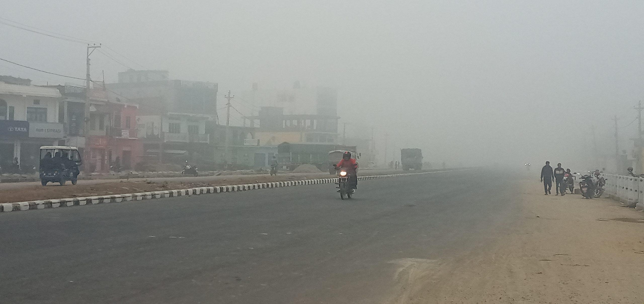 धनगढीमा आज फेरी अत्यधिक जाडो:(फोटो फिचर)