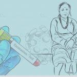 बेलाैरीकी एक बृद्धले जितिन काेराेना, महामारी नियन्त्रणका लागि स्वास्थ्यकर्मी परिचालन